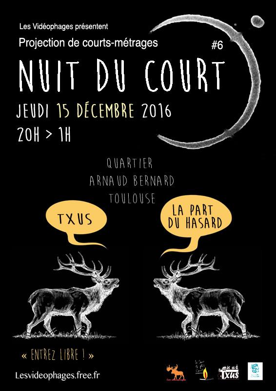Nuit du Court 2016